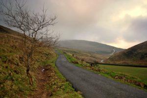 Road back to Dunsop Bridge