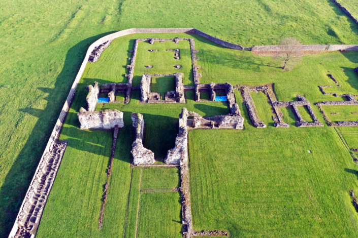 Sawley Abbey aerial